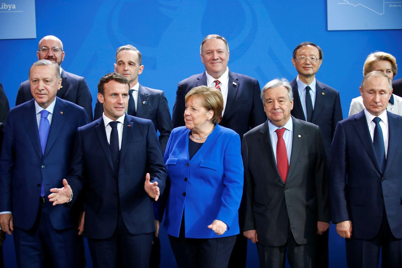 مؤتمر برلين الدولي حول ليبيا