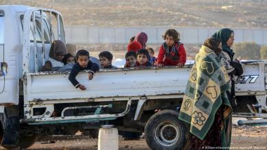 "Photo of نزوح من مناطق ""النصرة الإرهابية"" في إدلب السورية"