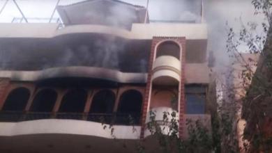 صورة إيهاب توفيق يُصدم بوفاة والده بحريق منزله