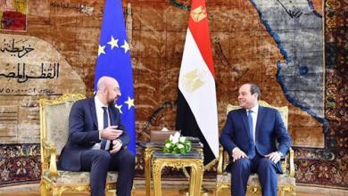 Photo of توافق مصري أوروبي بشأن تسوية القضية الليبية
