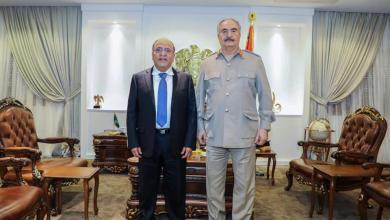 """صورة شركة الخليج العربي للنفط تجدد موقفها الداعم للجيش ضد """"الغزو التركي"""""""