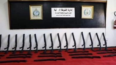 Photo of تونس تضبط أسلحة على الحدود مع ليبيا