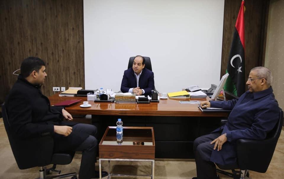 مالية الوفاق تبحث مراحل إعداد الترتيبات المالية مع معيتيق