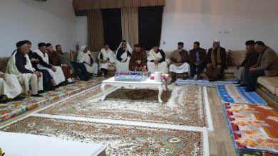 Photo of أعيان ترهونة: الليبيون يواجهون اليوم حرب وجود