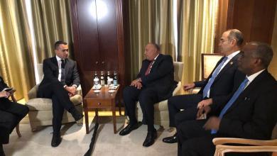 """Photo of وزيرا خارجية مصر وإيطاليا يجتمعان على هامش """"برلين"""""""