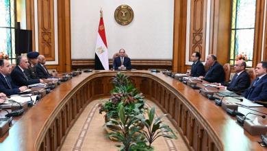 صورة السيسي يرأس اجتماعا طارئا لمجلس الأمن القومي