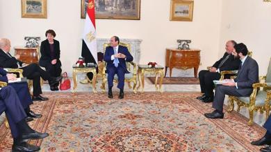 Photo of توافق مصري فرنسي لتسوية الأزمة الليبية