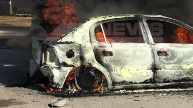 Photo of حريق سيارة في بدر يُثير غضب الأهالي