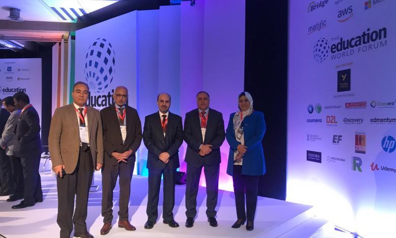 تعليم الوفاق تشارك في المنتدي العالمي للتعليم بلندن