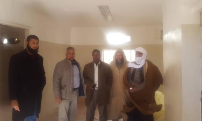 Photo of بلدية سبها تعلن تسليم موقع عيادة حي الطيوري لغرض الصيانة