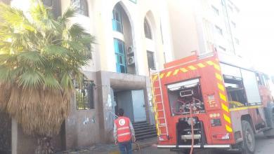 Photo of الهلال الأحمر طرابلس يعلن إخماده حريقا بمصرف التجارة