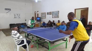 Photo of استمرار منافسات بطولة تنس الطاولة في مرزق