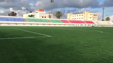 Photo of بنغازي .. صيانة الملعب الجانبي للمدينة الرياضية