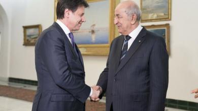 Photo of الجزائر وإيطاليا تتفقان على تكثيف الجهود لحل الأزمة الليبية