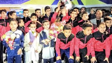 """Photo of بعد الإنجاز الكبير.. تكريم """"أشبال الشروق"""" في الزنتان"""