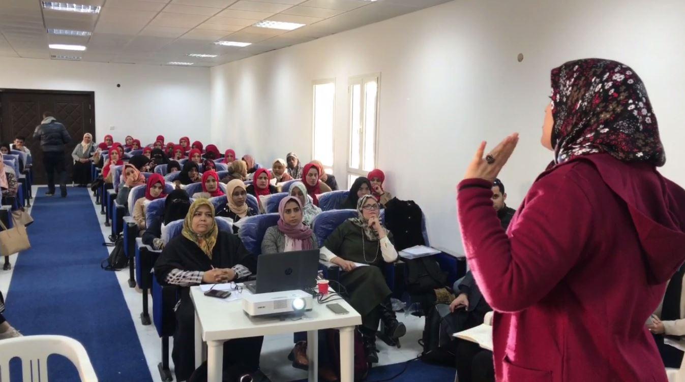 بنغازي .. دورة تأهيلية لتدريب الأطفال ذوي الاحتياجات الخاصة