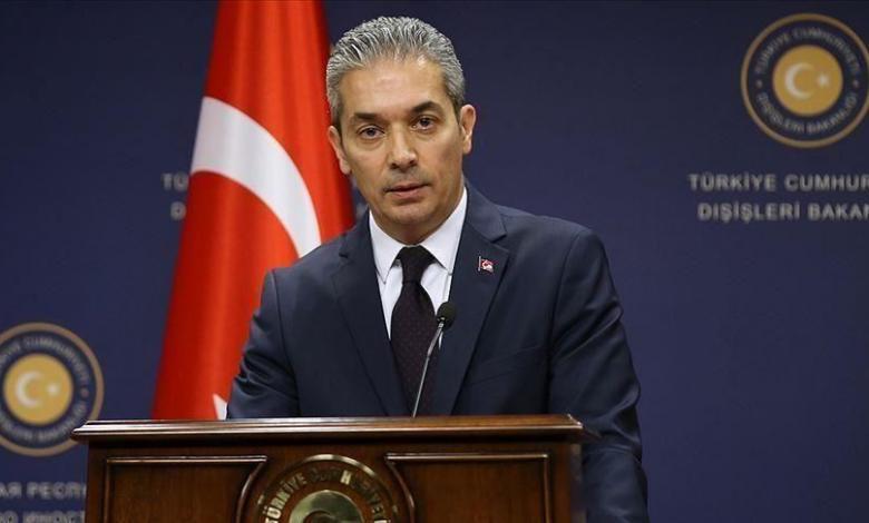 المتحدث باسم الخارجية التركية حامي أقصوي