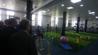Photo of إعادة افتتاح مركز الطب الرياضي في طرابلس