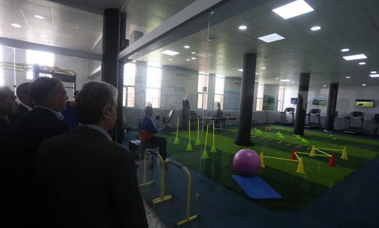 إعادة افتتاح مركز الطب الرياضي في طرابلس