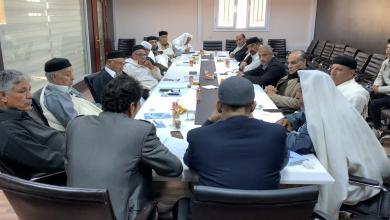 صورة اجتماع تحضيري في بني وليد للملتقى الوطني العام