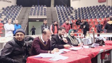 صورة حَكَم ليبية تشارك في بطولة المملكة الأردنية للكيك بوكسينغ