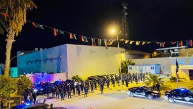 Photo of دوريات لتأمين احتفالات ثورة فبراير في طرابلس