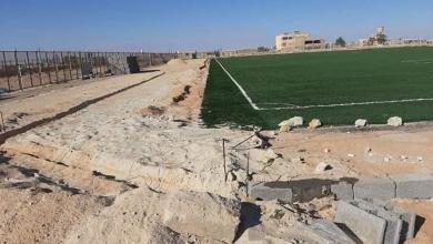 Photo of قرب انتهاء صيانة ملعب خالد بن الوليد في بدر