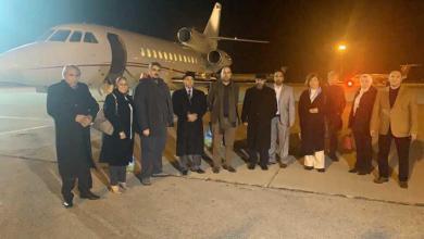 صورة عودة النواب المشاركين في جنيف بعد تعليق المشاركة