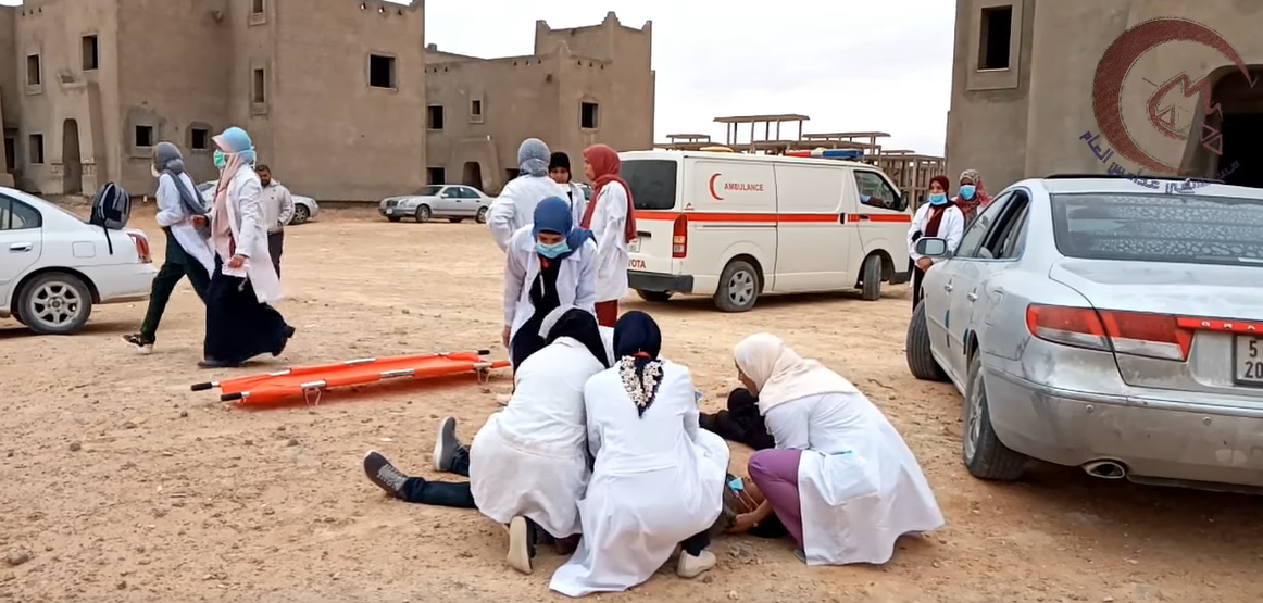 مستشفى غدامس العام يعلن اختتام دورة طب الإسعاف والطوارئ