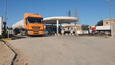 Photo of كميات كبيرة من الوقود تصل مدينة ترهونة