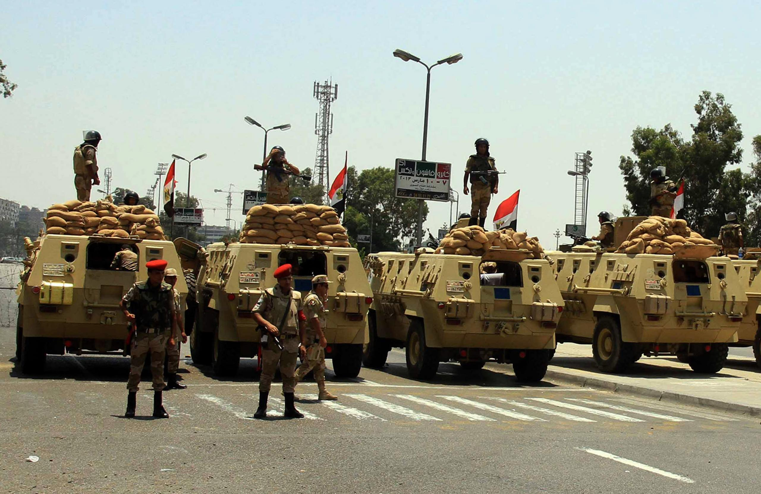 """الجيش المصري في شمال سيناء - """"أرشيفية"""""""