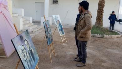 Photo of السنوسي يمزج الفن بالفكر في معرضه الأول بليبيا