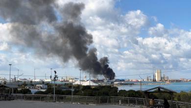 Photo of القيادة العامة تعلن استهداف مستودع أسلحة بميناء طرابلس