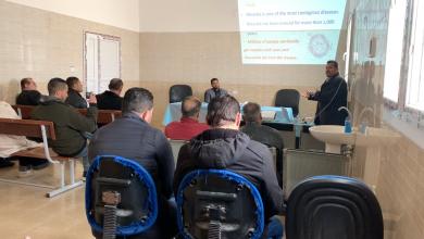 Photo of برنامج توعوي حول الأمراض المعدية في بني وليد