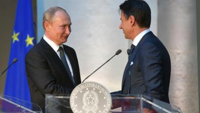 Photo of تأكيد روسي إيطالي بالعمل على حل أزمة ليبيا