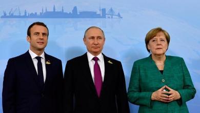 Photo of تأكيد روسي فرنسي ألماني على وقف القتال في ليبيا