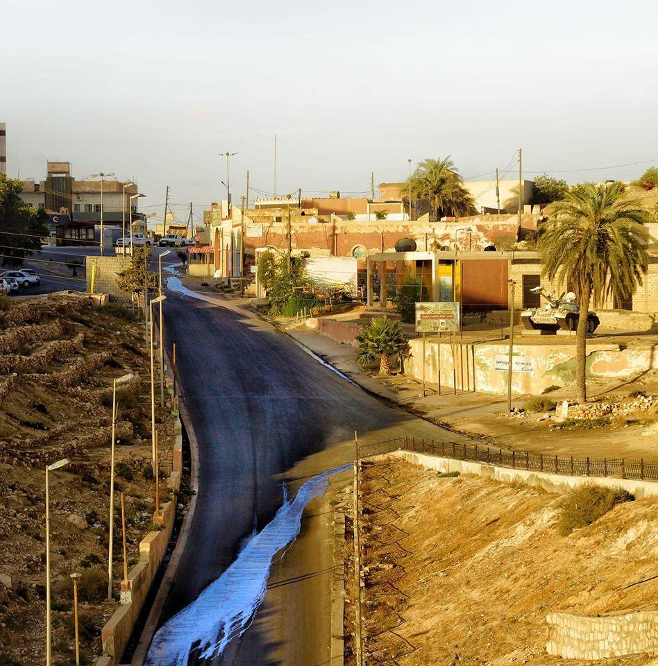 مختنقات بلدية نالوت محور لقاء عميد البلدية مع أحمد معيتيق النائب بالرئاسي
