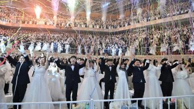 "Photo of 6000 عريس في كوريا الجنوبية في تحد لـ""كورونا"""