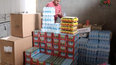 Photo of قافلة مساعدات للأسر النازحة إلى سرت (صور)