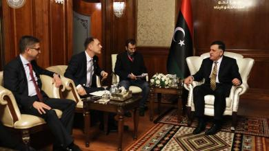 Photo of السراج يستقبل وفدا ألمانياً في طرابلس