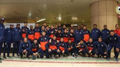 """Photo of منتخب الشباب يصل للسعودية ويتأهب لـ""""كأس العرب"""""""