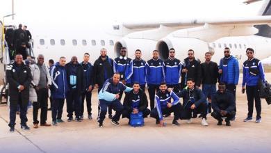 Photo of طائرة الهلال تصل إلى مصر