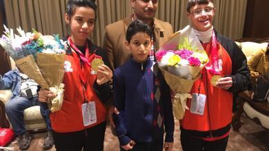 Photo of بعثة منتخب الأولمبياد الخاص تعود إلى ليبيا بالذهب