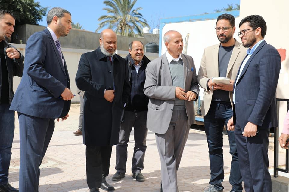 وزير الصحة بحكومة الوفاق يتفقد مستشفى أبوستة للأمراض الصدرية بطرابلس تحسباً لفيروس كورونا