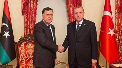 "Photo of ""اجتماع مغلق"" يضم السراج وأردوغان في اسطنبول"