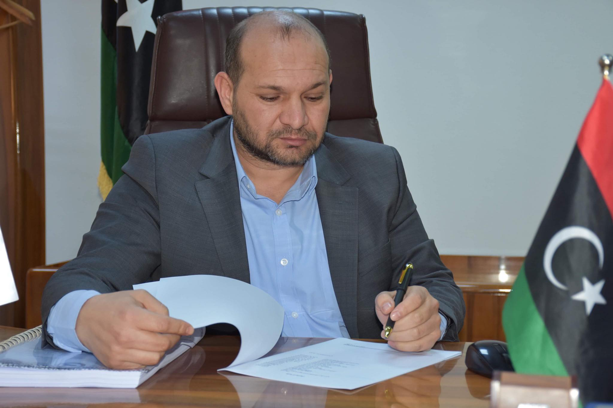 رئيس الهيئة العامة للاتصالات والمعلوماتية سامي الفنطازي