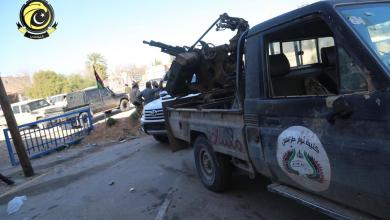 """صورة """"النواصي"""" تمنع """"باشاغا"""" من زيارة محورها القتالي"""