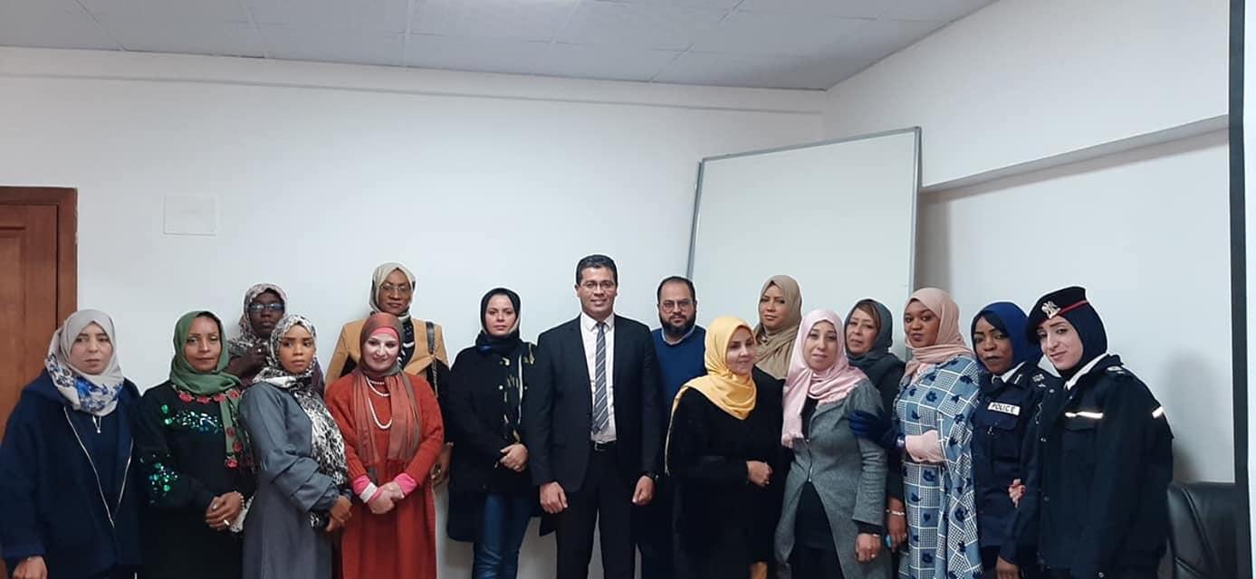 داخلية الوفاق تختتم الدورة التدريبية الخاصة بالمرأة
