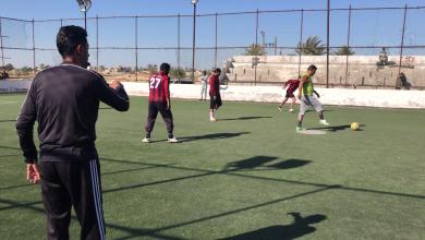 Photo of رقدالين.. الحرس البلدي يتحوّل إلى كرة القدم