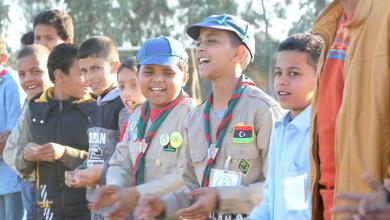 Photo of كشافة جالو يحتفون بالذكرى 66 لتأسيس الحركة في ليبيا